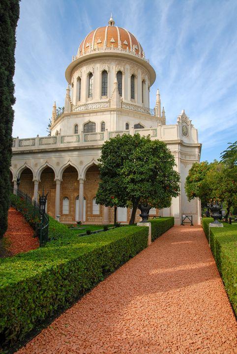 Shrine of the Bab, Haifa, Israel - PhotoStock-Israel