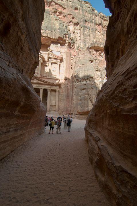 Jordan, Petra, Al Siq - PhotoStock-Israel