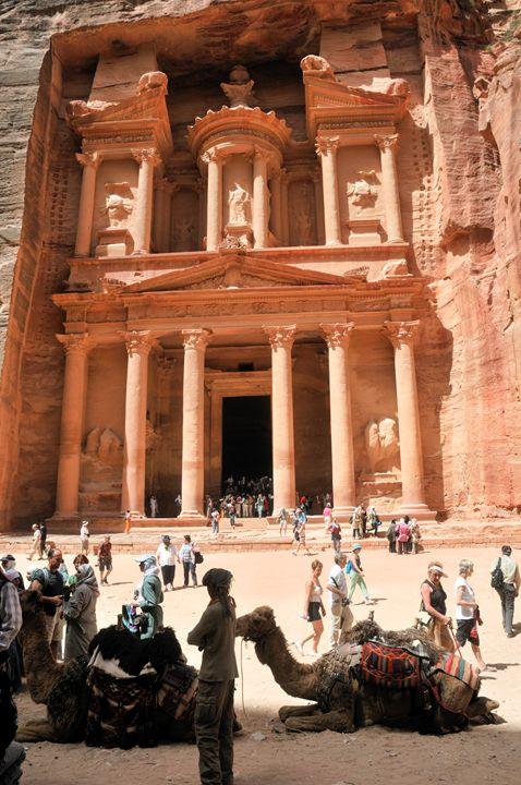 Jordan, Petra the Treasury - PhotoStock-Israel