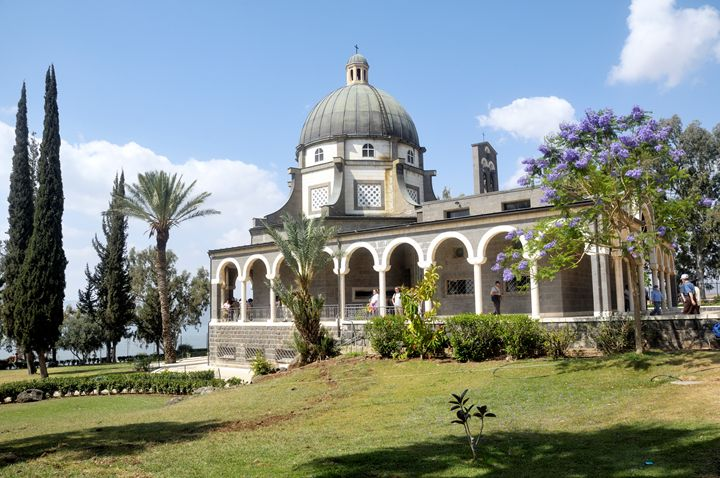 Israel, Galilee, Church of the Beati - PhotoStock-Israel