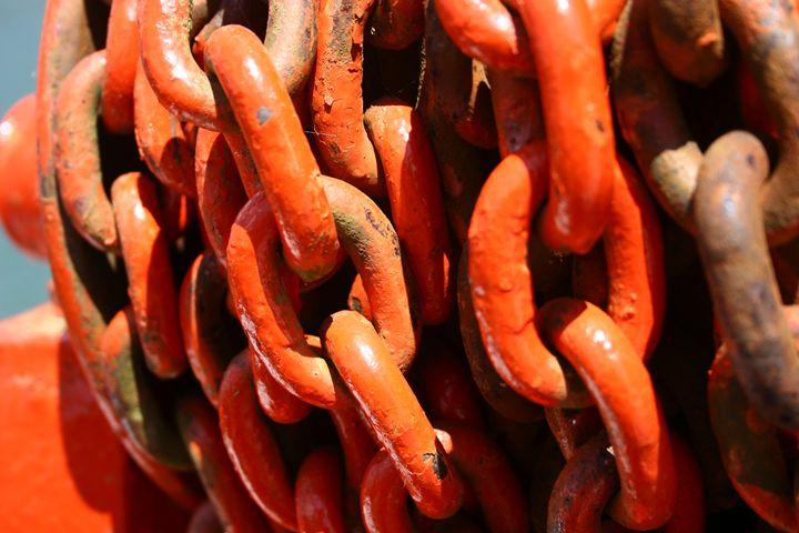 Iron chain links - PhotoStock-Israel