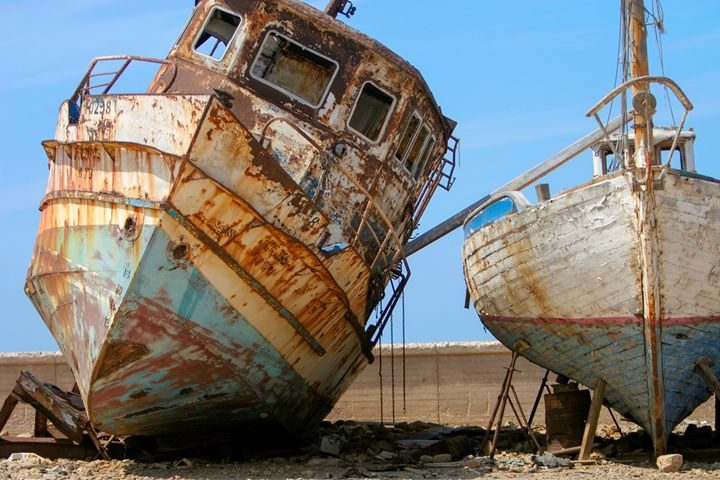 boats at dry dock - PhotoStock-Israel