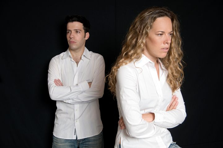 An angry young couple - PhotoStock-Israel
