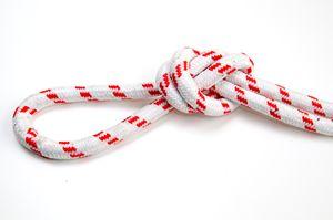 Overhead loop knot