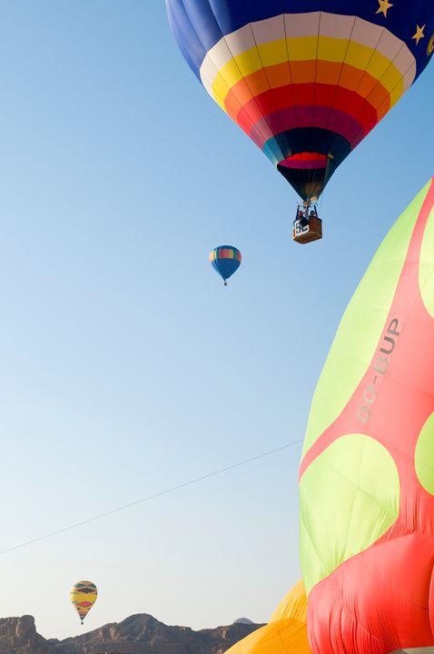 Hot Air Balloon show - PhotoStock-Israel