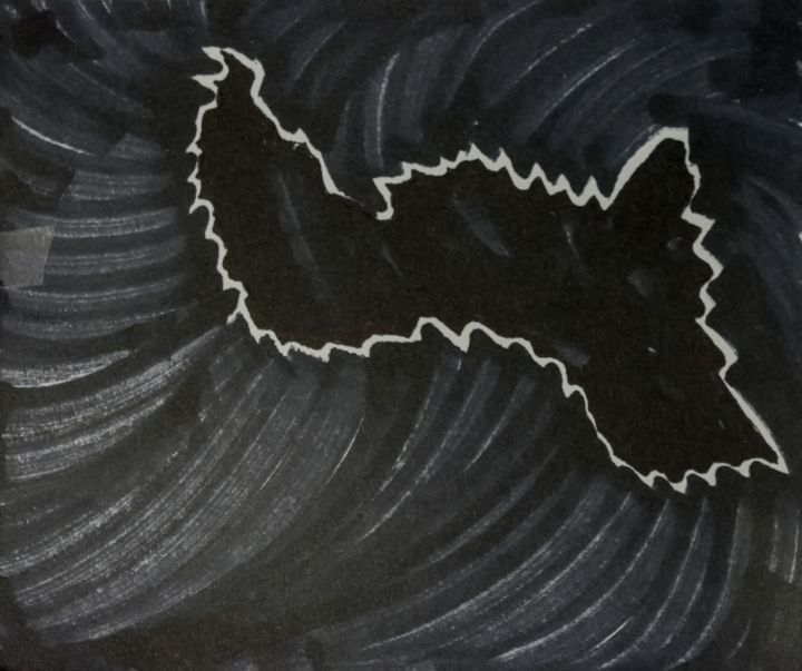 Black pen on cardboard - PhotoStock-Israel