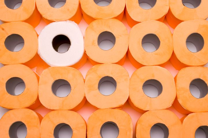stack of toilet paper rolls - PhotoStock-Israel