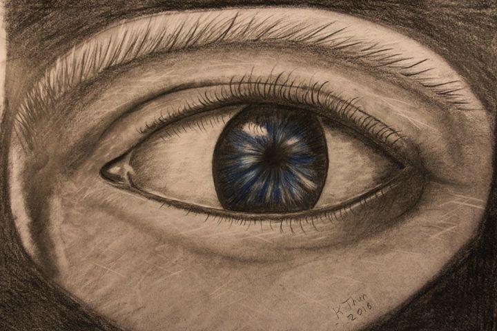 Human eye - Kristoffer Thun