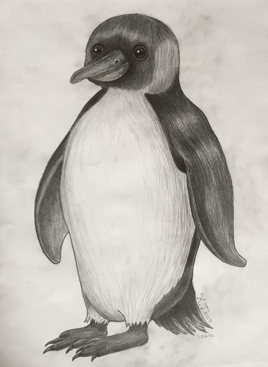 Large Penguin - Kristoffer Thun
