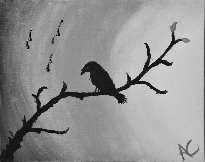 The Crow BW Edition - Ardelle's - AC Art Gallery