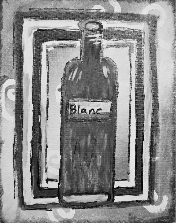 Blanc BW Edition - Ardelle's - AC Art Gallery