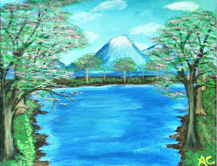 Volcano Peak HD Edition - Ardelle's - AC Art Gallery