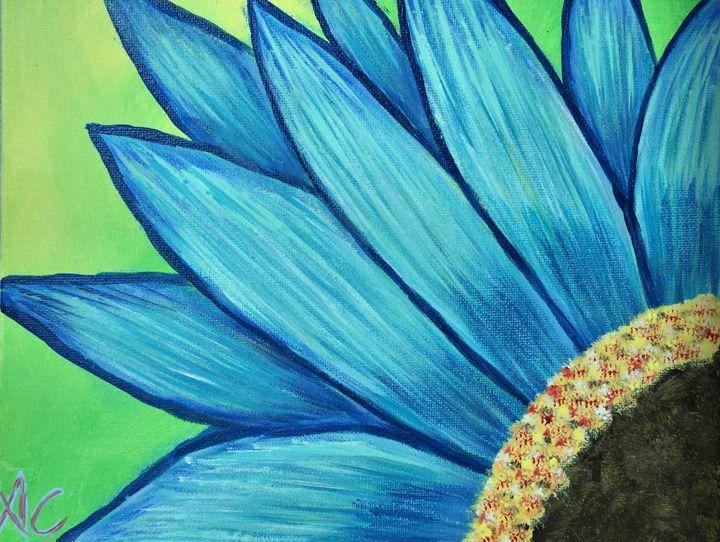 Blue Flower HD - Ardelle's - AC Art Gallery