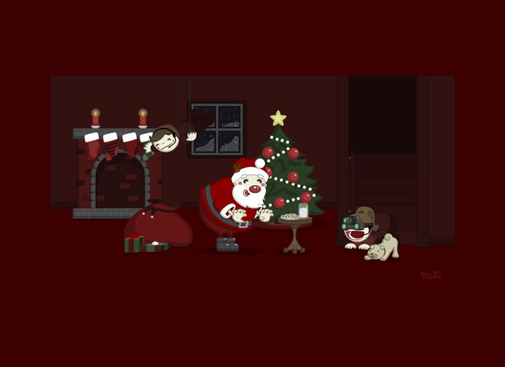 Christmas Mission: Impossible - Eric Montag's Illustrations