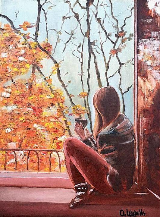 Autumn in Paris - Olga Lebedeva