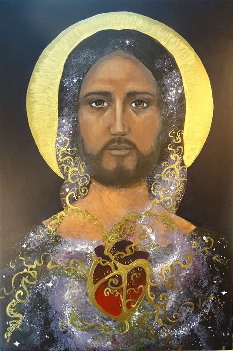 """Cosmic Christ"" - Sarah Pierzchala"