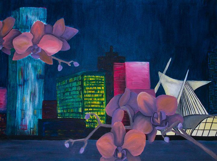 city flower - Katie Golabowski