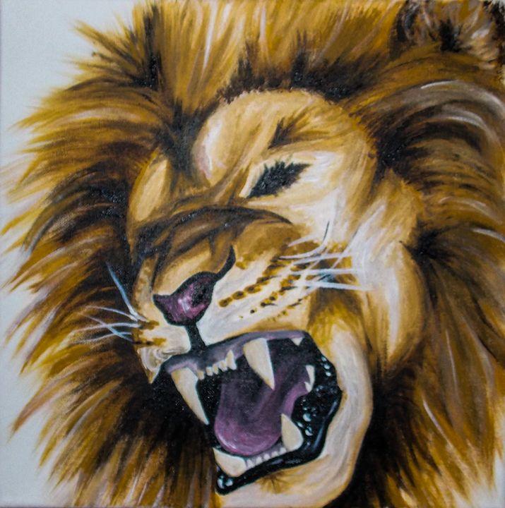 roaring lion - Katie Golabowski