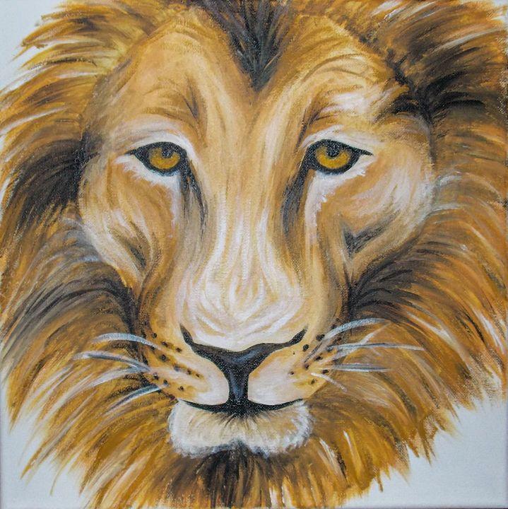 male lion - Katie Golabowski