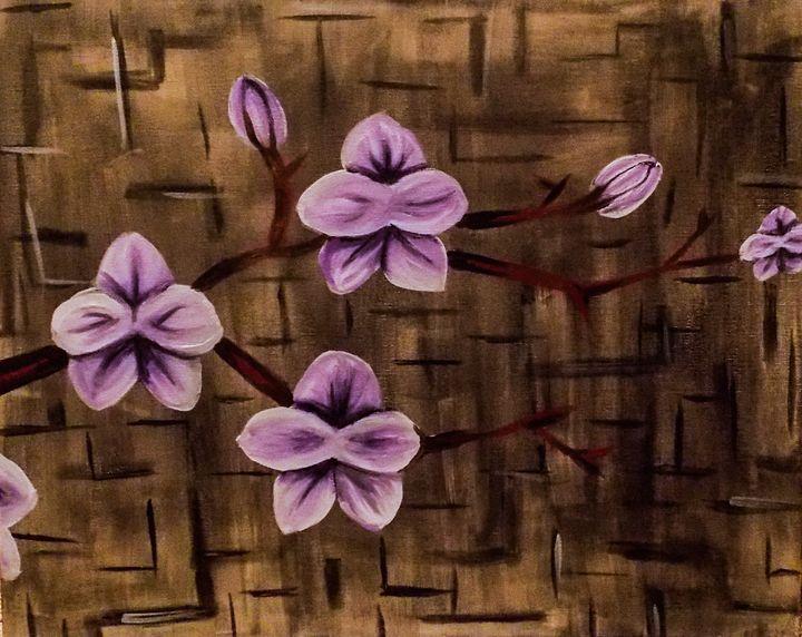 purple orchids - Katie Golabowski
