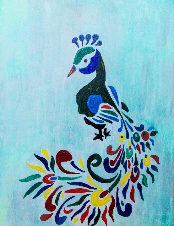 peacock - Katie Golabowski