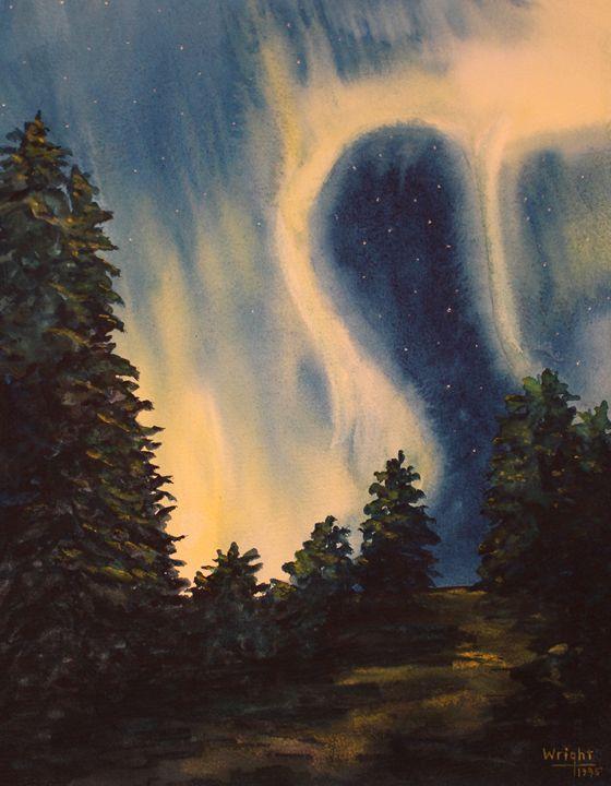 The Ionized Sky - George Wright Art