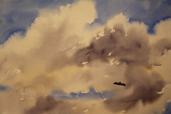 Fair Weather Cumulus - George Wright Art