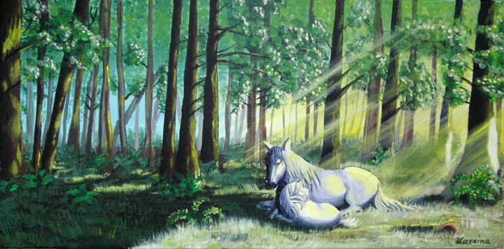 Mother in the Forest - Lorraina Dreamscapes Gallery