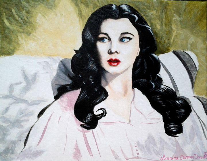 Vivien Leigh/Scarlett O'Hara - Lorraina Dreamscapes Gallery