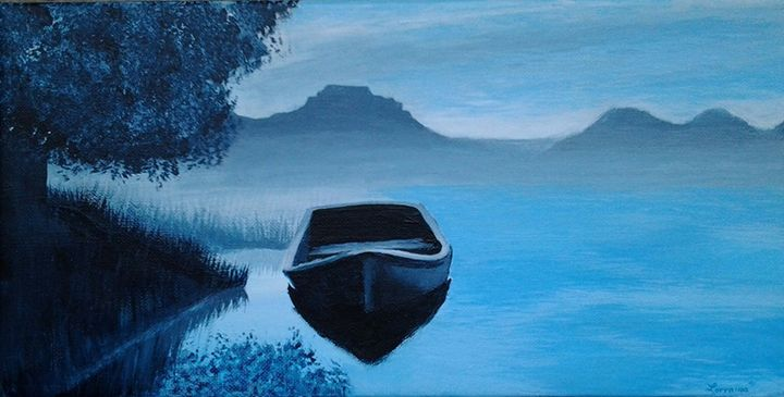 Beautifully Blue - Lorraina Dreamscapes Gallery
