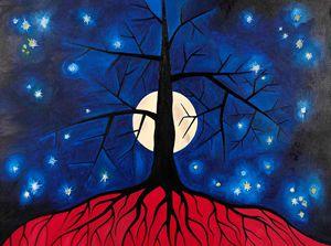 """Painting """"Symbol"""" (60x80cm)"""