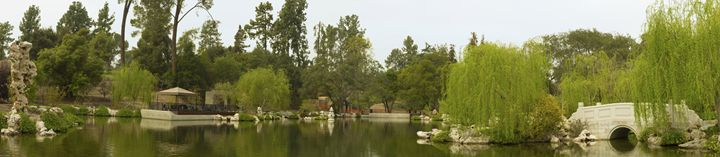 Chinese Lake and Garden Panorama - LUXNV