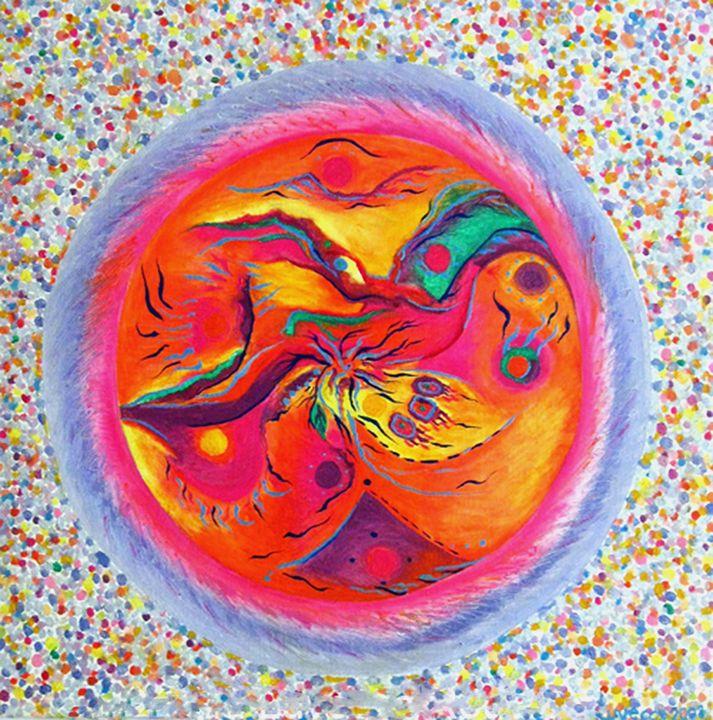 Inner Vision I / Visión interna I - HEART DREAMING PAINTINGS