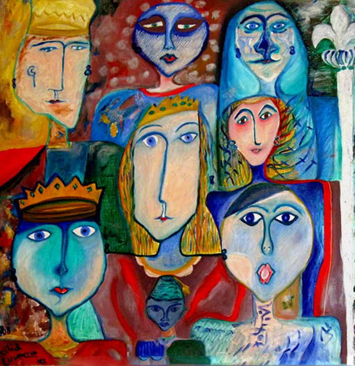 Together/ Ensemble/Juntos - HEART DREAMING PAINTINGS