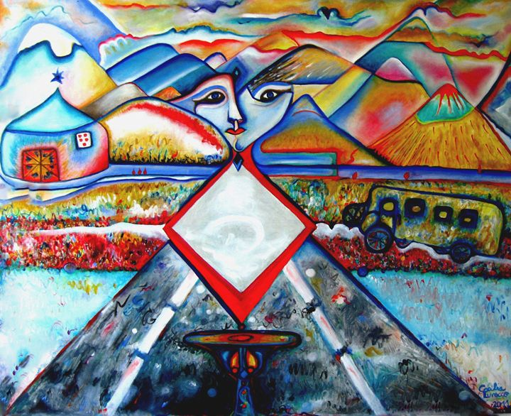 Remote Lands/Tierras lejanas - HEART DREAMING PAINTINGS