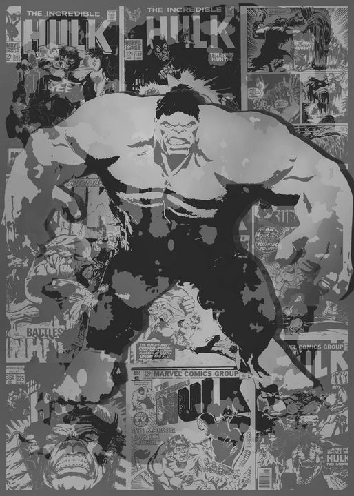 Gray hulk - RedB