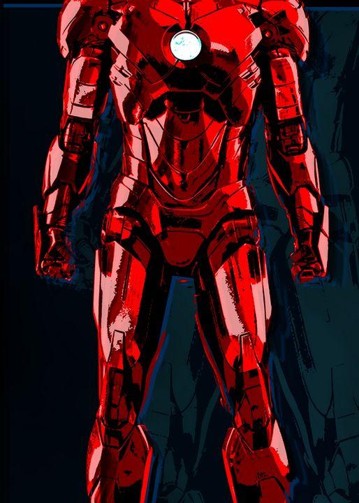 iron man suit - RedB