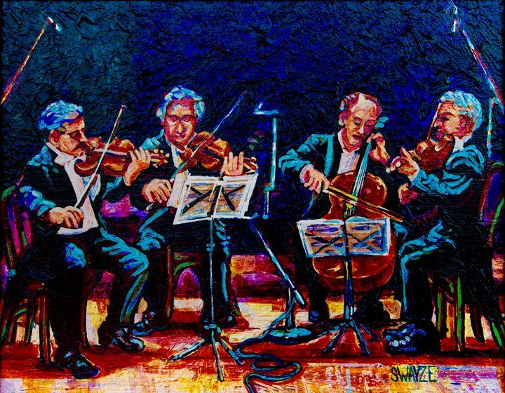 String Quartet - SwayzeArt
