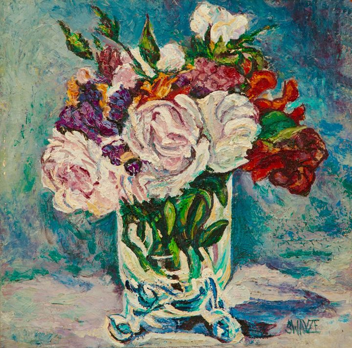 Roses and Flowers after Manet - SwayzeArt