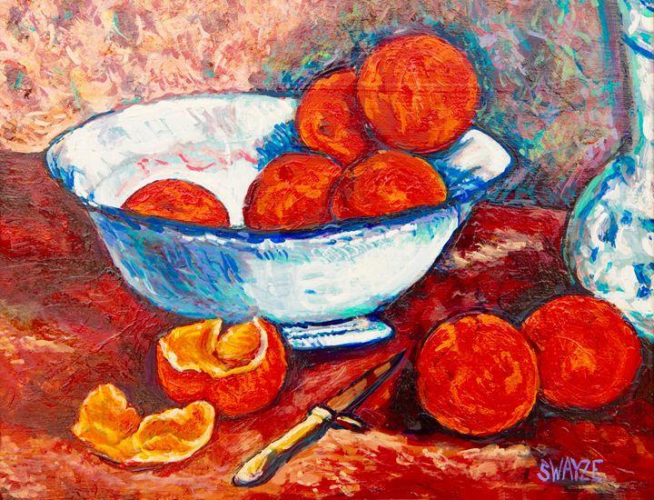 Oranges after Gauguin - SwayzeArt