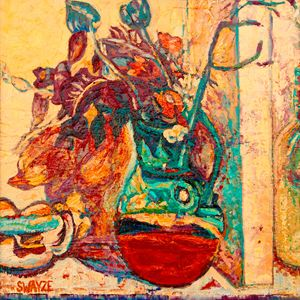 Provencal jug after Bonnard