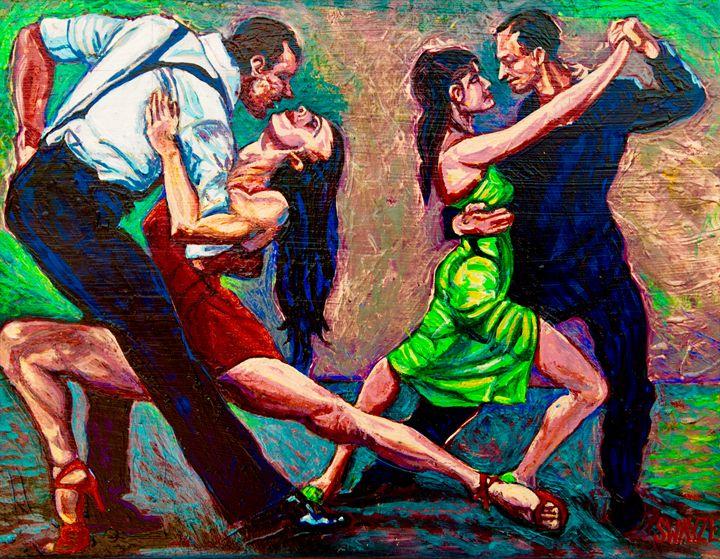 Tango Argentina - SwayzeArt