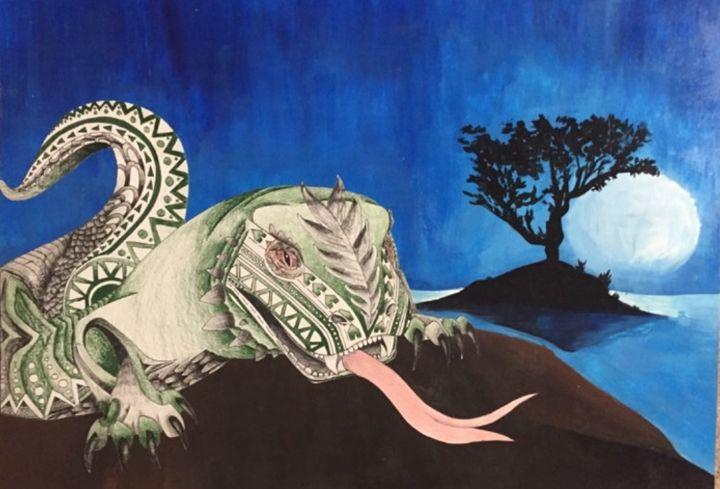 Komodo dragon - Angie kupka