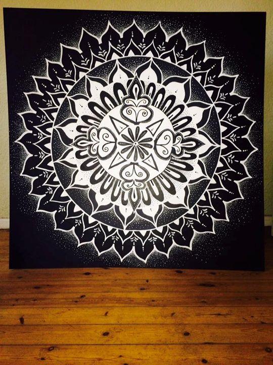 Galactic Flower Mandala - The Dream Box