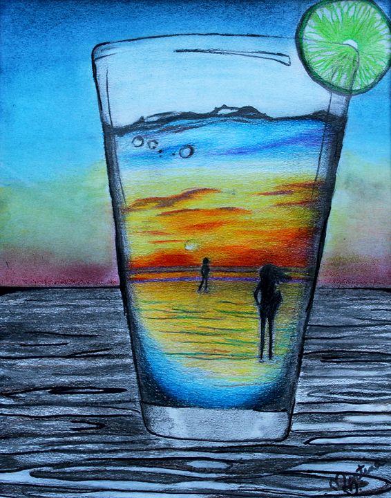 Tequila Sunrise - Martina Paige Fine Art