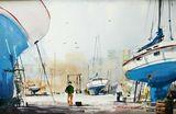 "27""x21"" Orig.Watercolor"