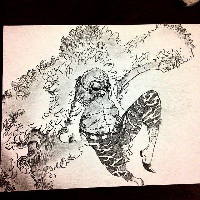 Donquixote Doflamingo - Tommy's Sketches