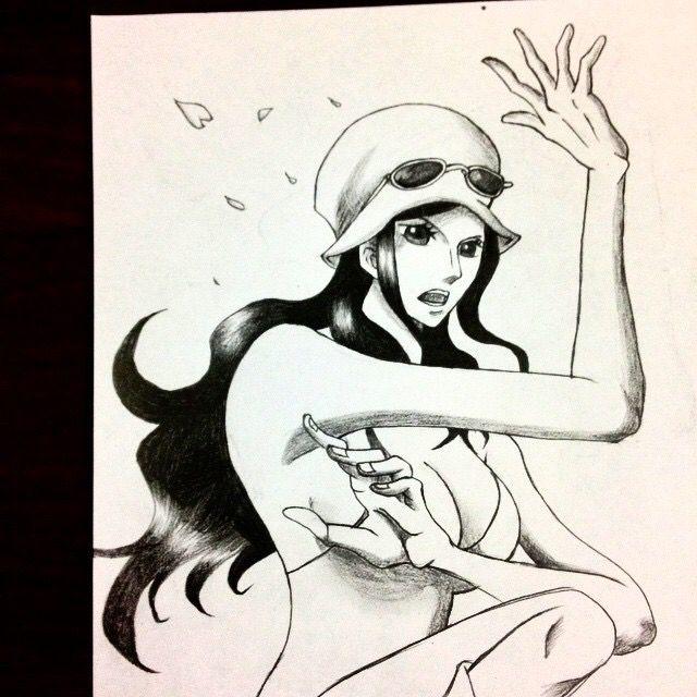 Nico Robin - Smilly Sketch