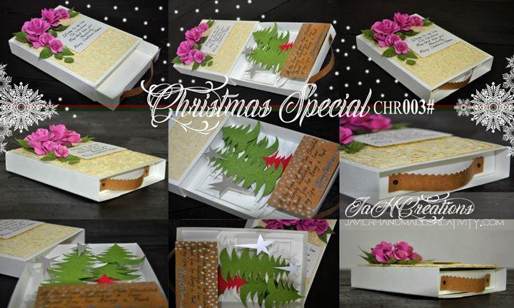 Christmas handmade card - FishGirl@C