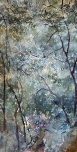 Essence of Lilacs - Paintings by Jennifer Redman Wadsworth